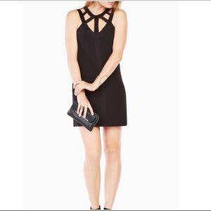 BCBG Black Cutout Dress